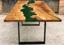 Примеры полимерных столов