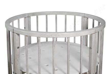 Круглая кроватка